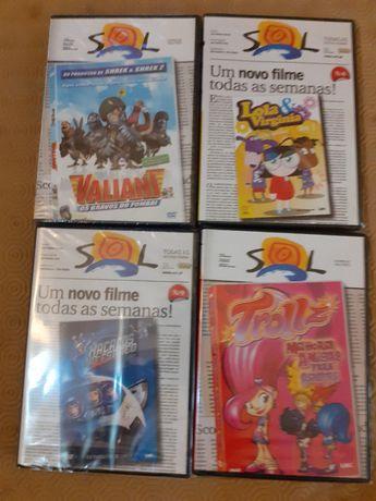 Filmes do Semanário Sol (NOVOS) (SELADOS) - 10 DVDs