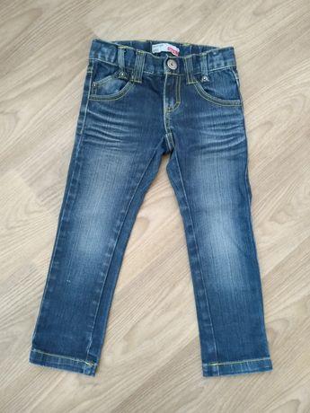Spodnie jeansowe 104 cm name it jak nowe