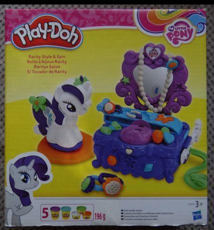 PLAY doh my little pony toaletka rabity B3400