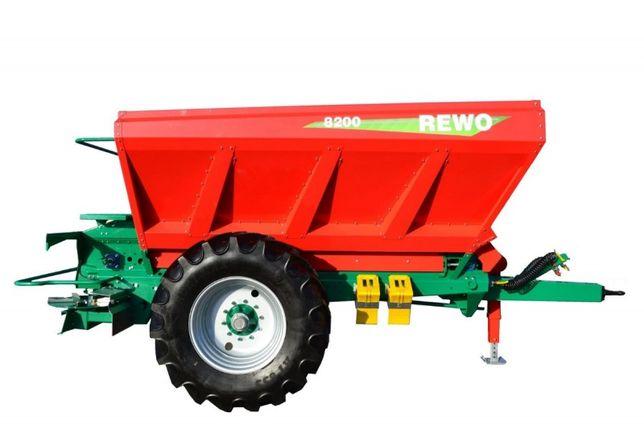 Rozsiewacz do wapna REWO 8200 litrów Agro-Masz