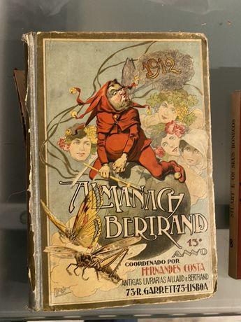 Almaques da bertrand- 1912,1920 e 1929