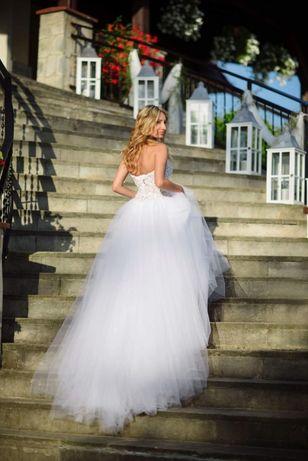 Suknia ślubna svarowski