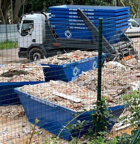 ODIVELAS recolhemos todo tipo de entulho e resíduos de jardinagem