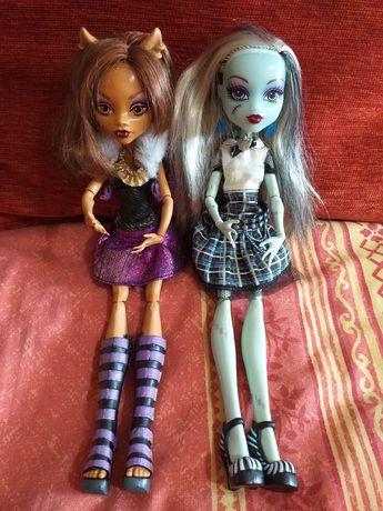 Lalki Monster High Franki i Clawdeen