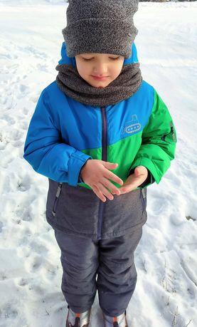Продам зимний комбинезон термокомбинезон мембрана Topolino+КРАГИ!