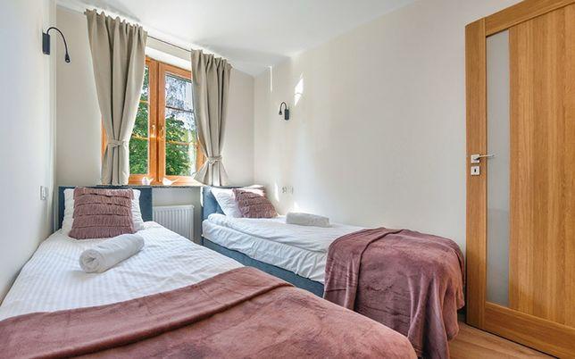 Łóżko tapicerowane hotelowe box 80x200 z materacem PRODUCENT
