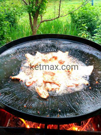 Сковорода 60см из диска, сковорідка із диску борони, мангал, садж