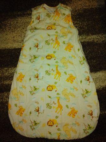 Śpiworek niemowlęcy gruby