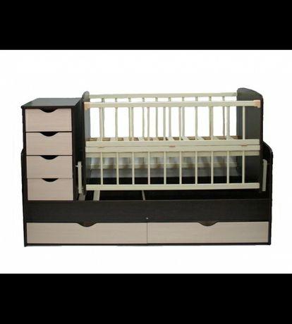 Ліжко трансформер. Дитяче ліжечко