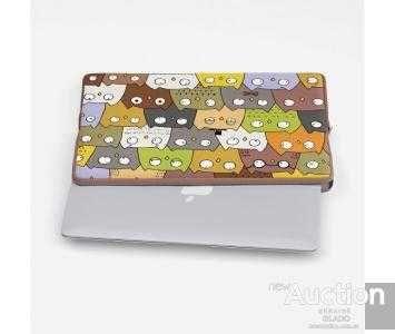 Чехол для ноутбука с рисунком Разные Совушки