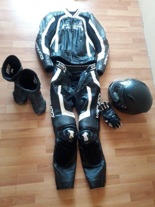 kombinezon motocyklowy DAMSKI vanucci komplet