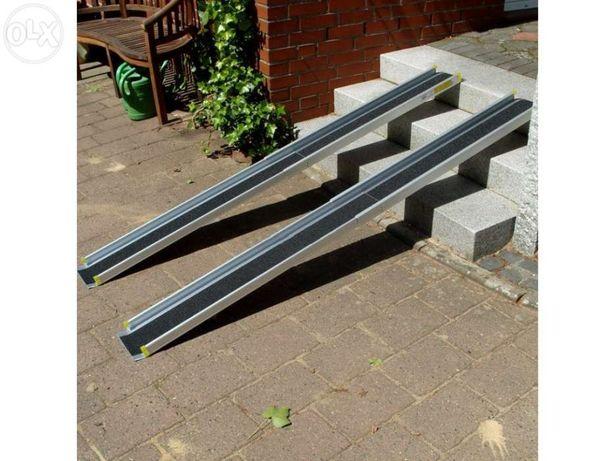 Rampa (par) mobilidade telescópica alumínio 2,1m - o par suporta 270kg