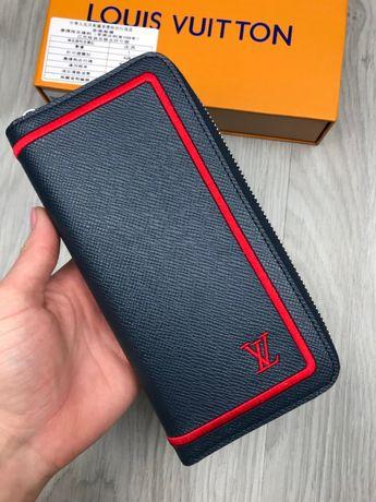 Кошелек бумажник купюрник клатч органайзер портмоне Louis Vuitton k177