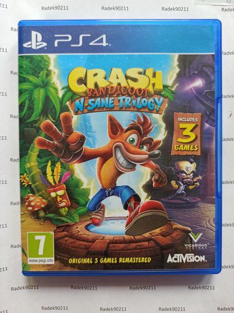 Crash Bandicoot N Sane Trilogy PS4 PlayStation 4 PS5 PlayStation 5