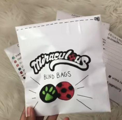 Miraculum Biedronka i Czarny Kot Blind Bag