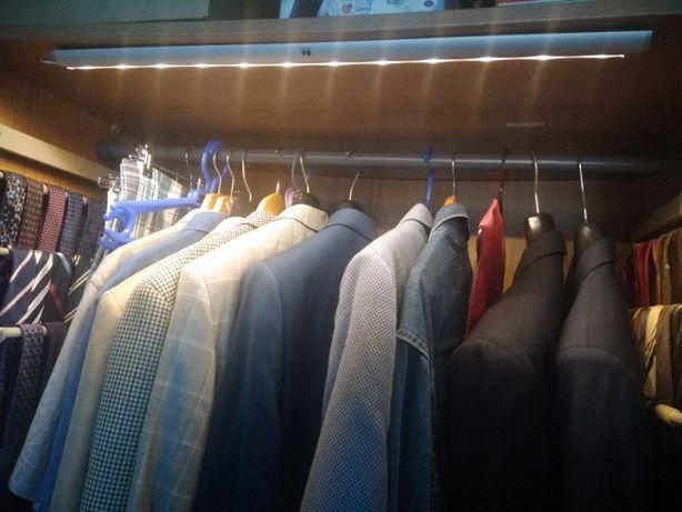 Calha de iluminação led para armários