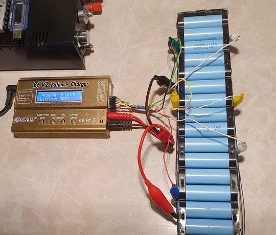 Balansowanie ogniw akumulatorów Li-Ion roweru hulajnogi elektrycznej