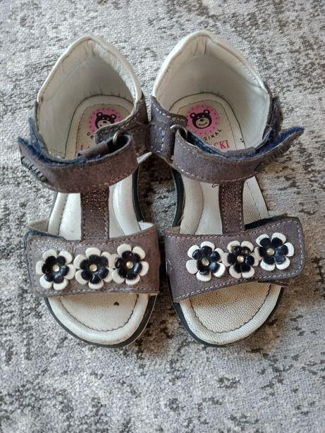 Sandały dla dziewczynki roz.23