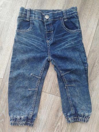 Nowe spodnie jeansy Topomini 86