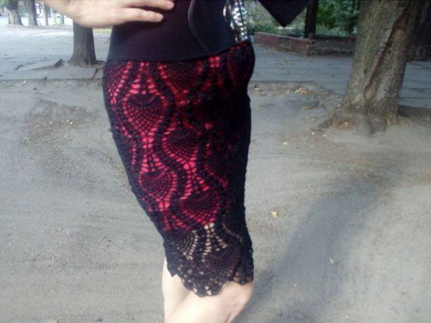 юбка ручной работы