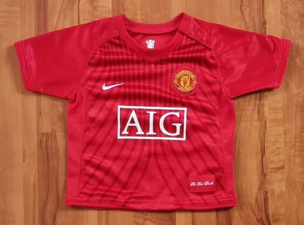 Koszulka sportowa piłkarska Nike Manchester United 6-9 miesięcy 68-74