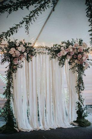 Stelaż ścianka tło ślub wesele