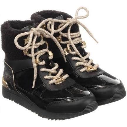 Кожаные ботиночки Michael kors  для девочки , размер 32