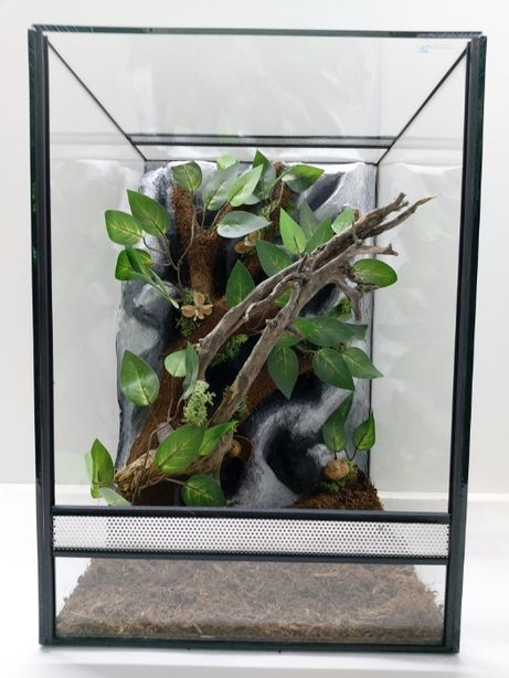 Terrarium AquaWaves nr.kat. TW08KT (kameleon, wąż, gekon orzęsiony)