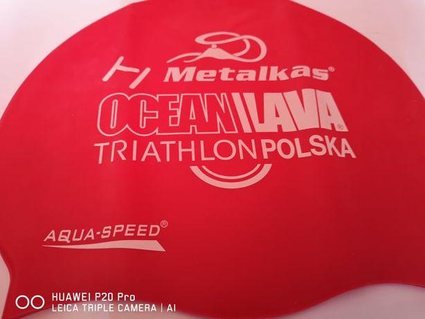 Czepek pływacki Triathlon Polska