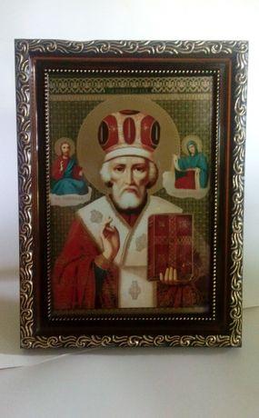Икона иконка святой Николай Чудотворец или ОБМЕН на овощи курей цыплят
