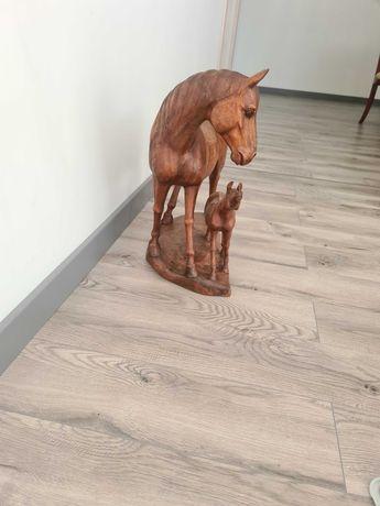 Konie z drzewa  dekoracyjne