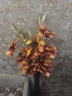 Цветы искусственные.Букет для напольной вазы