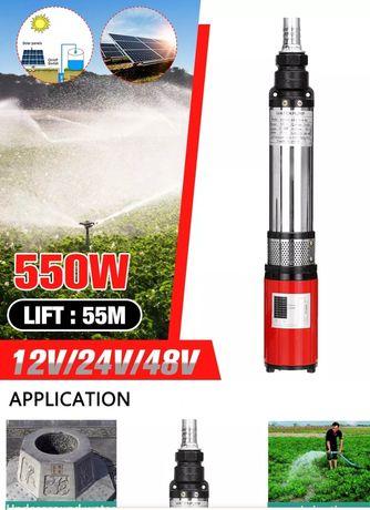 "Bomba 12 volts 550 whatts ""SOLAR"""