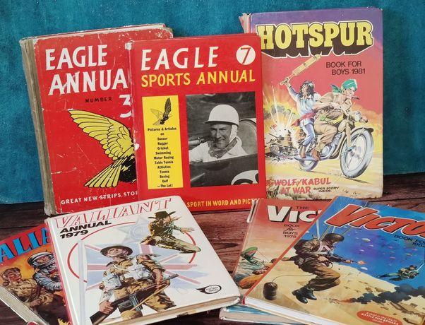 Альманахи и комиксы разных годов