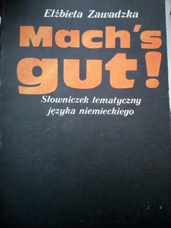 Słowniczek tematyczny języka niemieckiego
