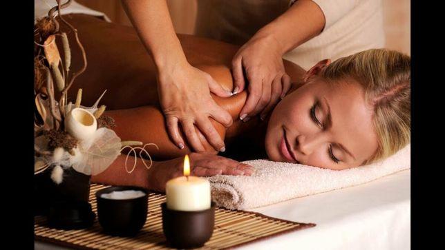 Профессиональный массаж на дому для женщин!