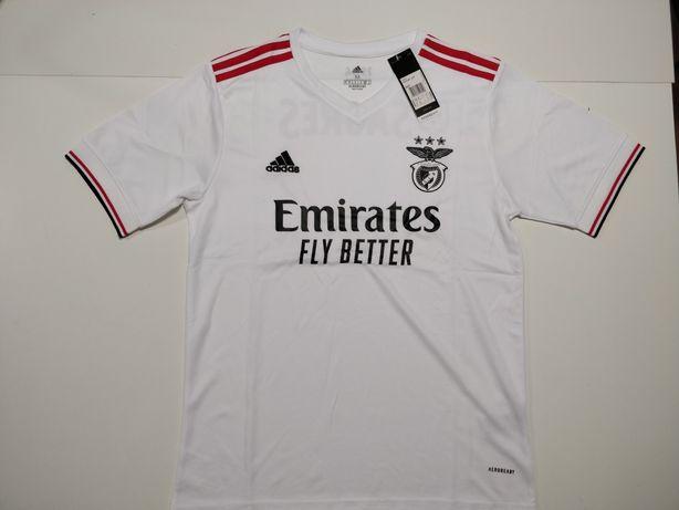 Camisola Benfica Alternativa Branca 2021/22
