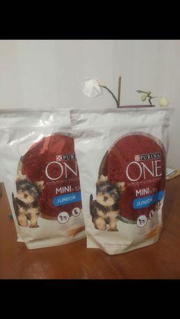 Продам сухой корм для щенков малых пород Purina One Mini Junior.