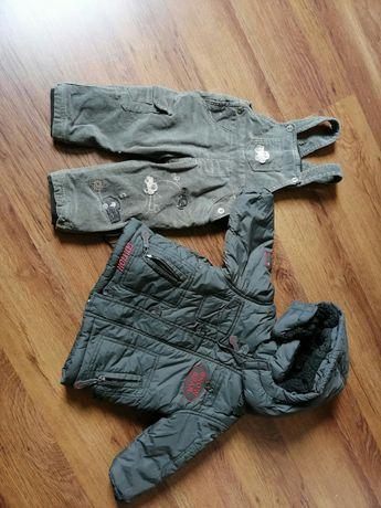 Kurtka zimowa i spodnie ocieplane