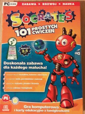Socrates 101 edukacyjna gra komputerowa wiek 2-5 lat.