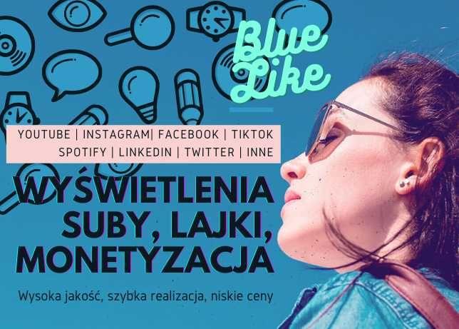 Youtube wyświetlenia, suby, monetyzacja Instagram lajki, follow Warszawa - image 1