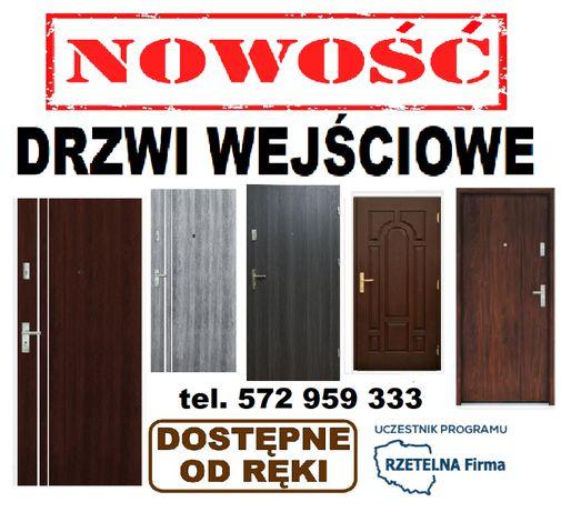 Drzwi z MONTAŻEM ,zewnętrzne ,WEJŚCIOWE, POLSKIE-wewnątrzklatkowe.