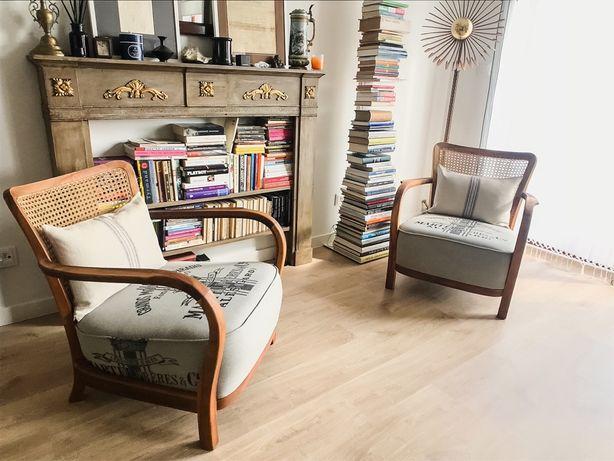 Fotele klubowe po renowacji #vintage