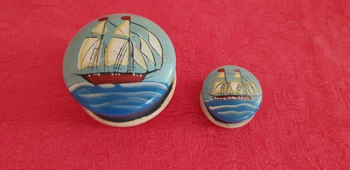 Caixas decorativas pintadas à mão São Roque - imagem 1