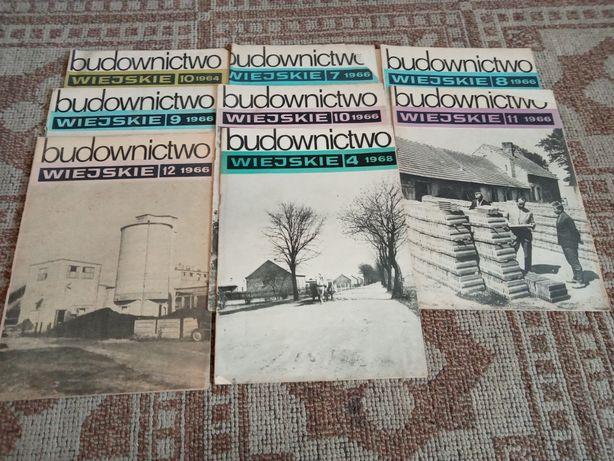 Gazeta Budownictwo wiejskie 1964r-1968r