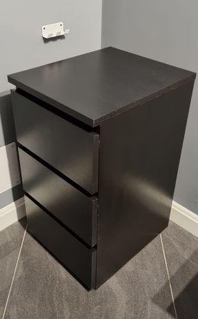 Komoda MALM, IKEA, trzy szuflady, stan idealny