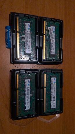 Pamięć RAM 3x 2GB i 4GB SoDIMM 1Rx8 Samsung DDR3