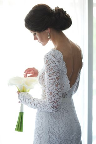 Свадебное платье, минимализм , изысканное
