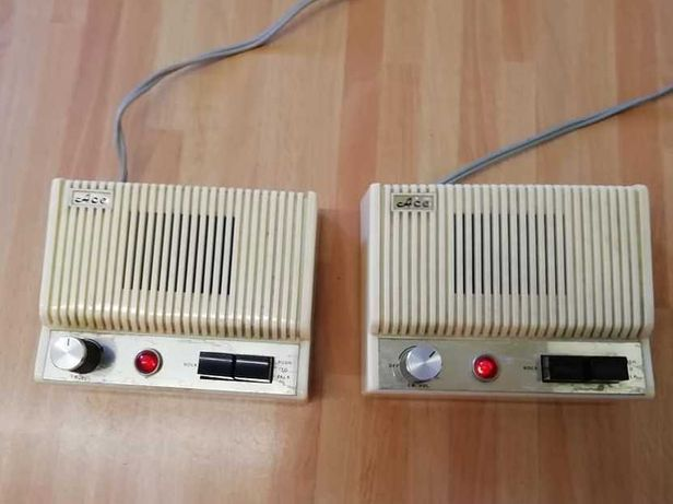 Dois rádio transmissores da marca japonesa Ace - vintage
