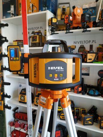 NIVEL SYSTEM NL500 niwelator laserowy Poziom 500m NOWOŚĆ !